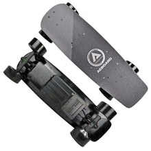 Load image into Gallery viewer, AEBoard AX Mini Electric Skateboard XL Wheels and Power