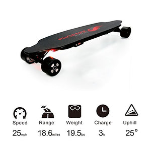 Phoenix Ryders P6 Dragon Electric Skateboard