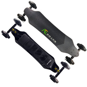 AEBoard GT All Terrain AWD Electric Longboard 6 Inch Wheels