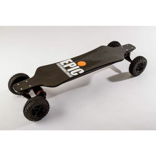 Epic Electric Skateboards Carbon Racer 3200 Dual Pro Longboard