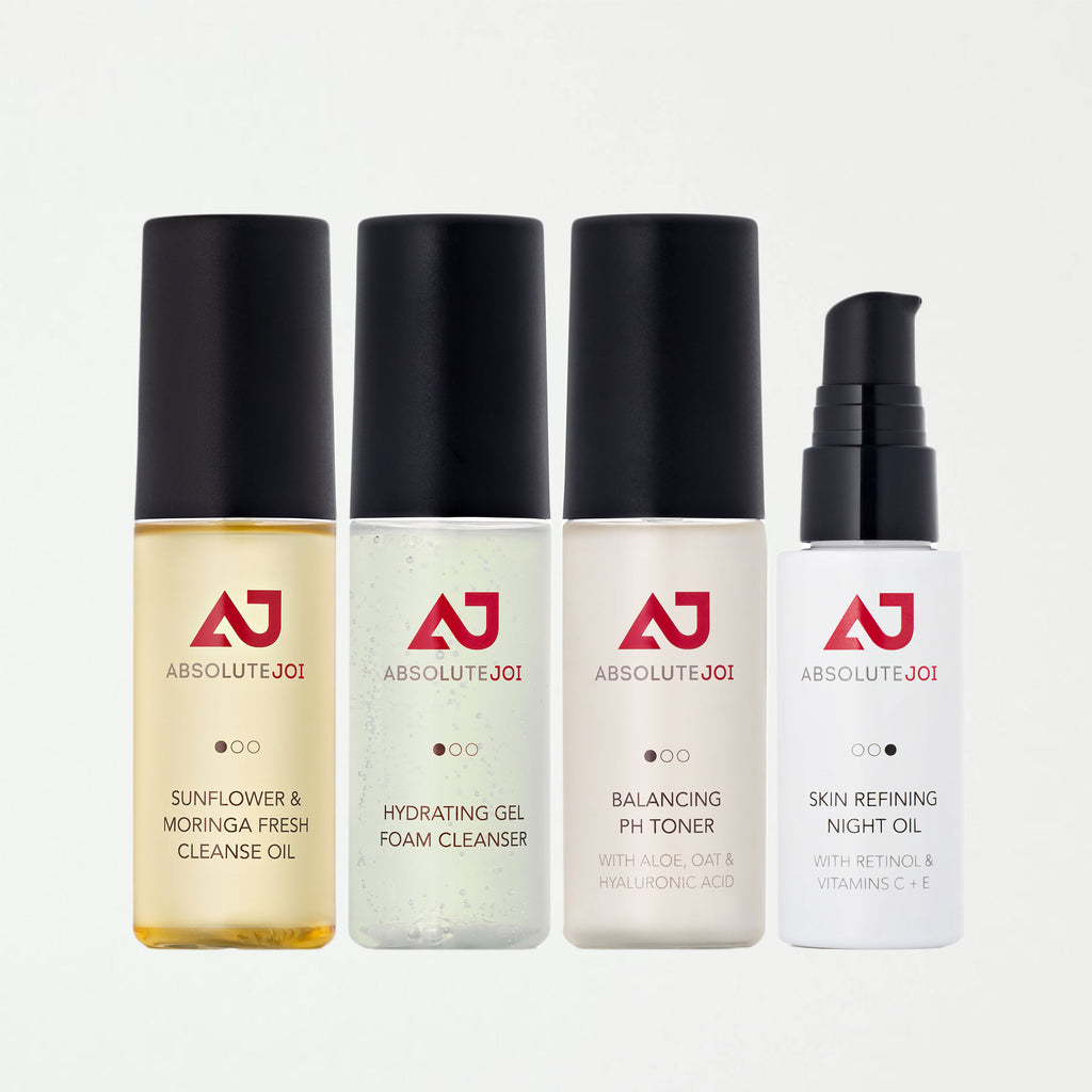 Skincare Starter Collection | Double Cleansing Kit Plus Night Oil - SHOWFIELDS