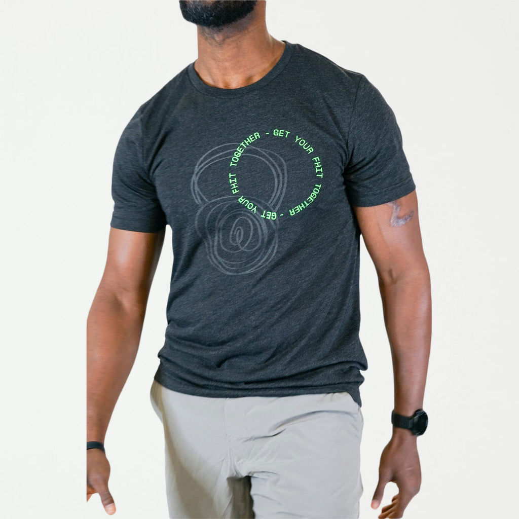 Get Your FHIT Together Black Unisex Tee - SHOWFIELDS