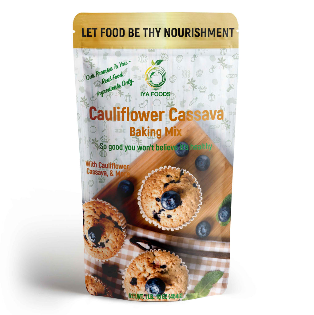 Cauliflower Cassava Baking Mix 1lb - SHOWFIELDS