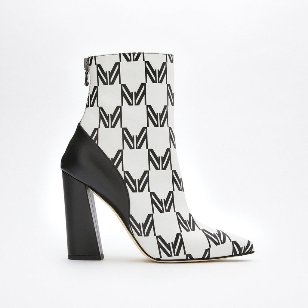 Women's Printed Ankle Boots - SHOWFIELDS
