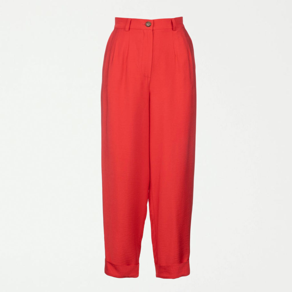 Paperboy Pant - Coral - SHOWFIELDS