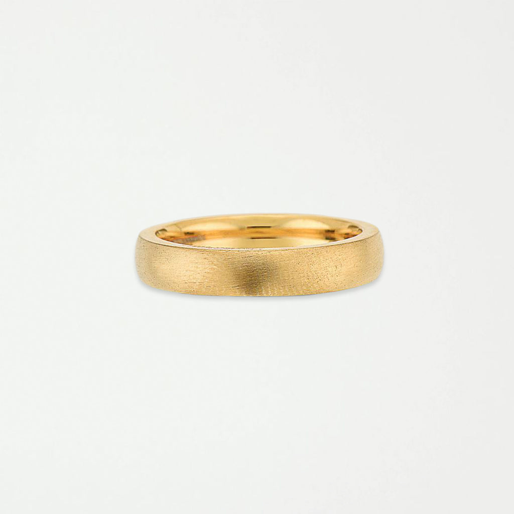 DIEGO BARRUECO 4MM BRUSHED BAND RING - SHOWFIELDS