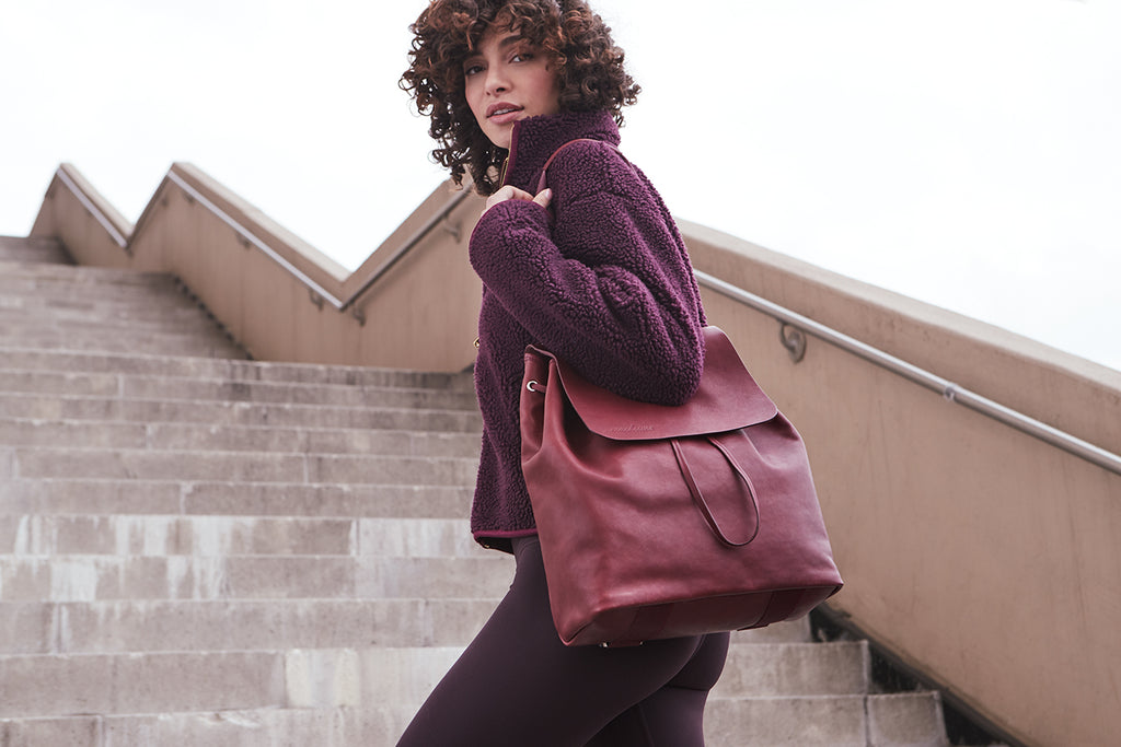 Carryall in Burgundy - SHOWFIELDS
