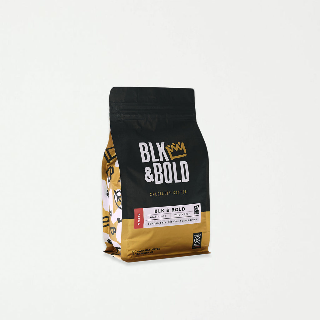 BLK & Bold - Coffee Blend, Dark Roast - SHOWFIELDS