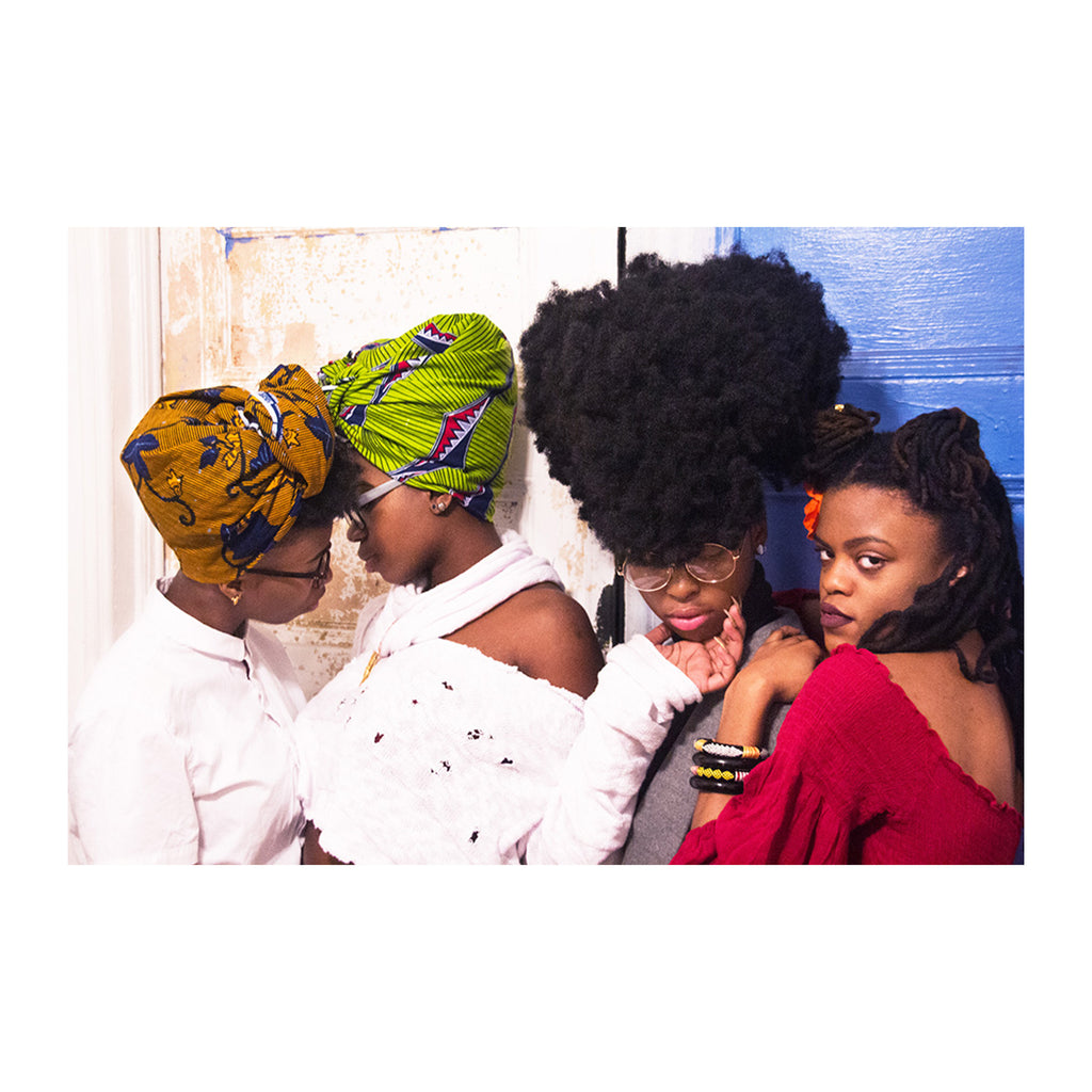 4 Queer African Women in Repose - SHOWFIELDS