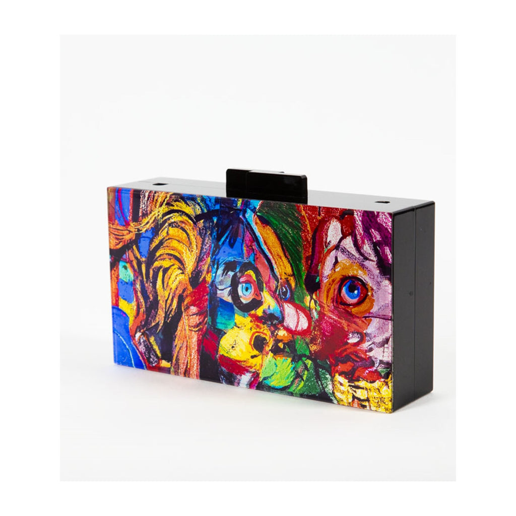 "Natalie Frank x Maria Brito ""In The Woods"" Acrylic Clutch - SHOWFIELDS"