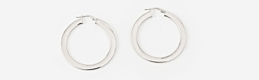 Bold Hoops - Medium - SHOWFIELDS