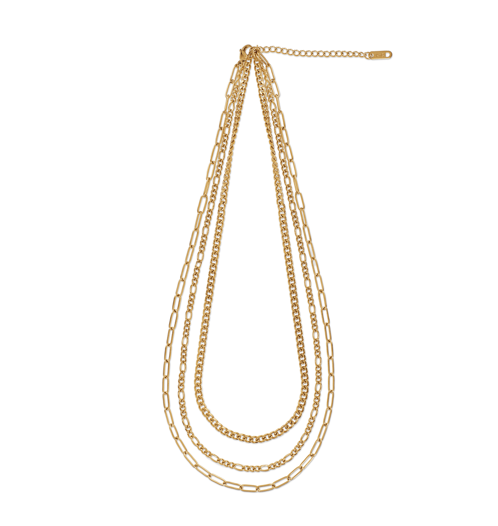 NOLA MULTI CHAIN NECKLACE - SHOWFIELDS