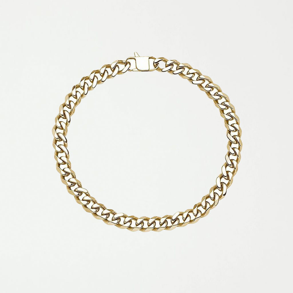 DIEGO BARRUECO CUBAN LINK ( 15 MM ) STAINLESS STEEL NECKLACE - SHOWFIELDS