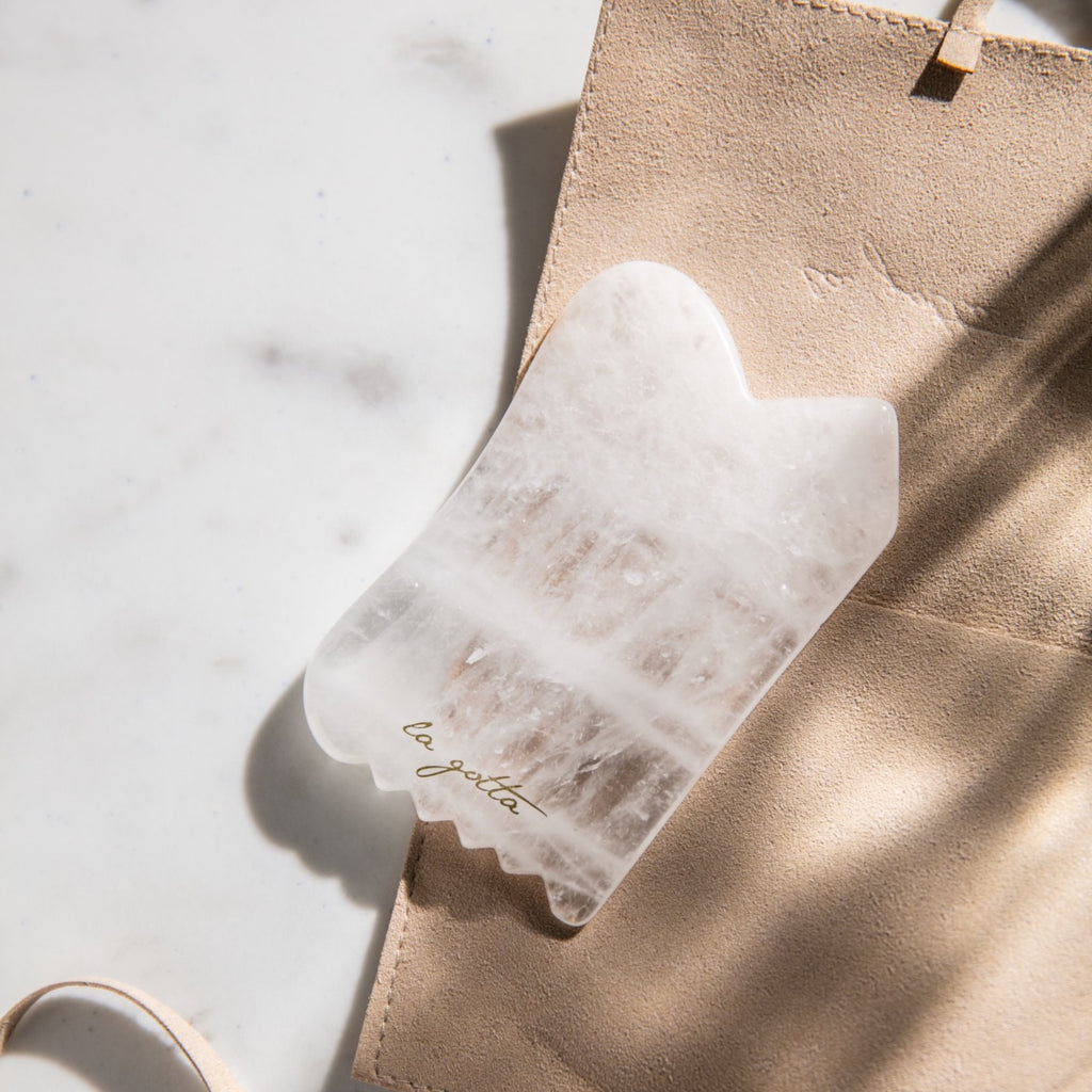 Clear Quartz Gua Sha - SHOWFIELDS