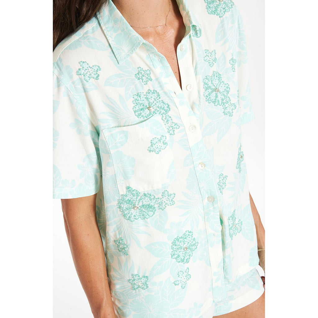 Beaded Kaia Shirt - SHOWFIELDS