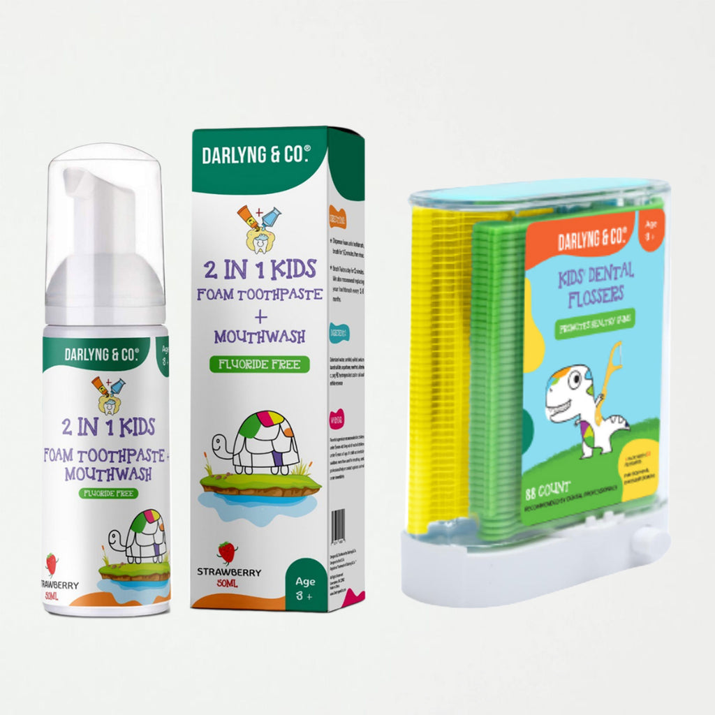 2-in-1 Kids Foam Toothpaste + Mouthwash - SHOWFIELDS