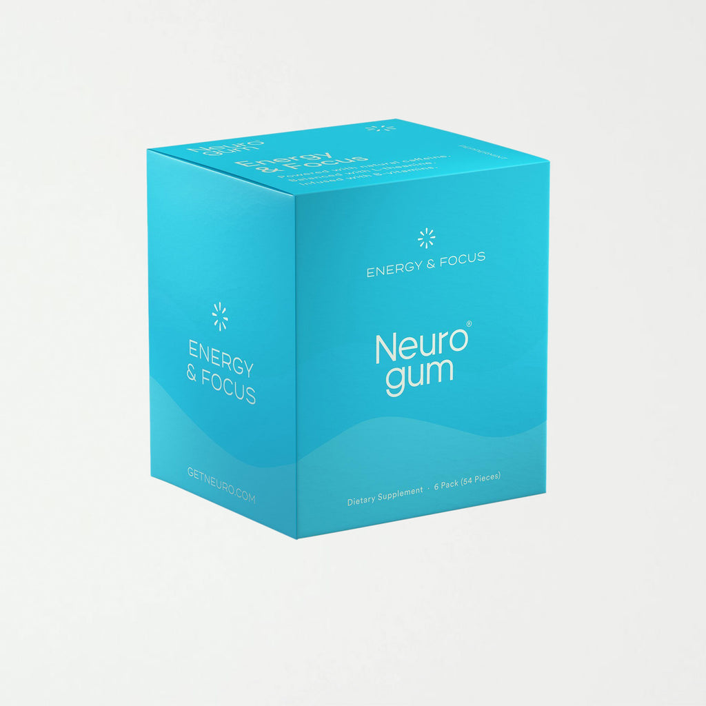 Neuro Gum | Caffeine + L-theanine | Energy and Focus Gum - SHOWFIELDS