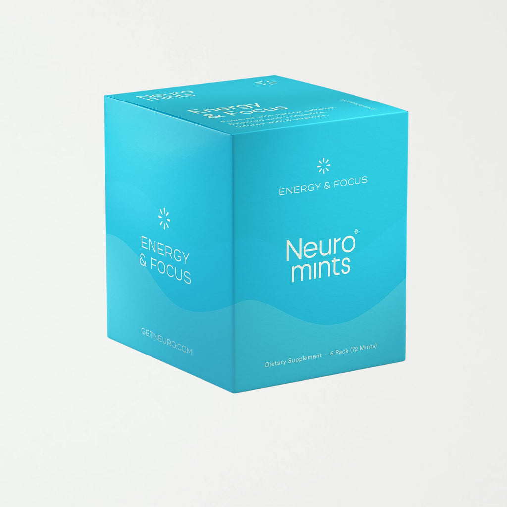 Neuro Mints | Caffeine + L-theanine | Energy and Focus Mints - SHOWFIELDS