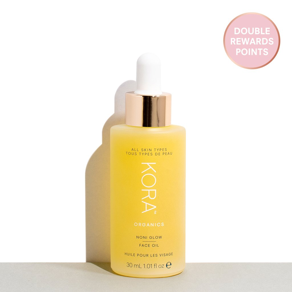 Double Points for the Award-Winning Noni Glow Face Oil