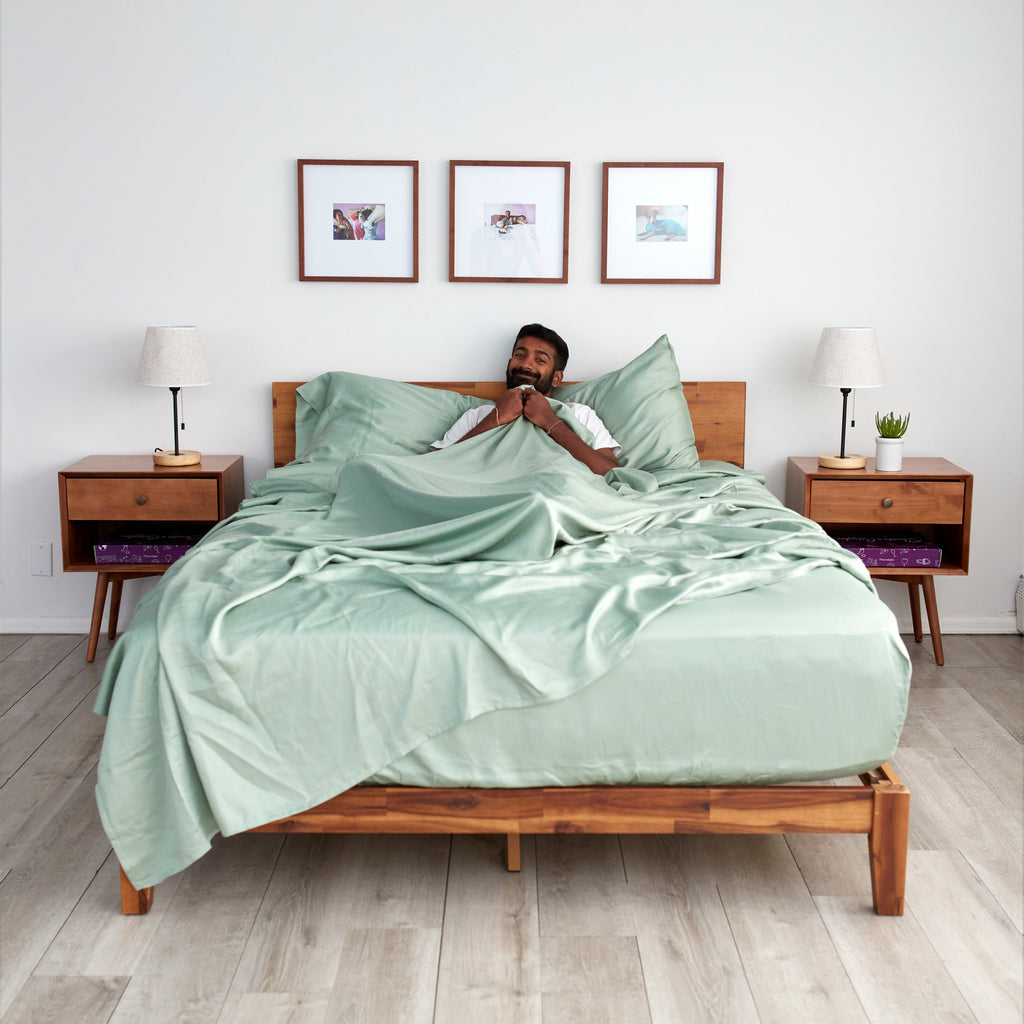 Eucalyptus Lyocell Sheet Sets - Sage - SHOWFIELDS