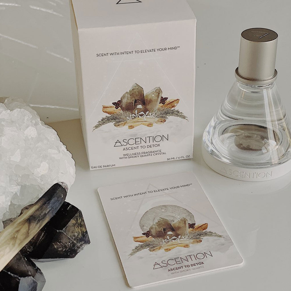 ASCENT TO DETOX WITH SMOKY QUARTZ CRYSTAL - SHOWFIELDS