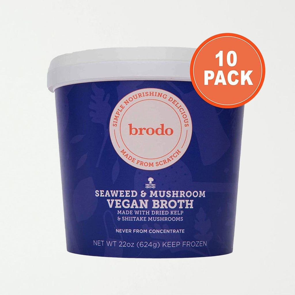 Brodo Seaweed + Mushroom Broth, 10 Count - SHOWFIELDS
