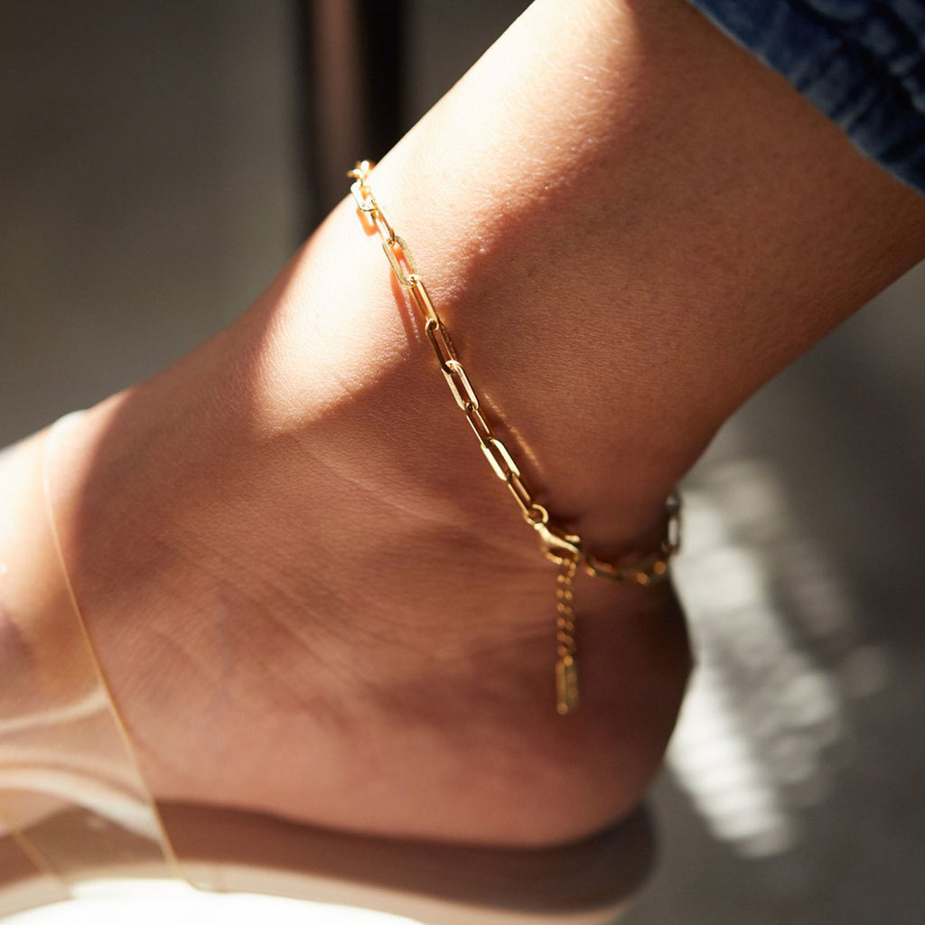Bold Link Anklet - SHOWFIELDS