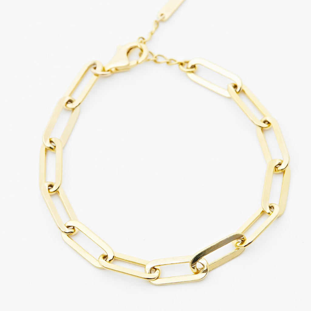 Rectangle Link Bracelet - SHOWFIELDS