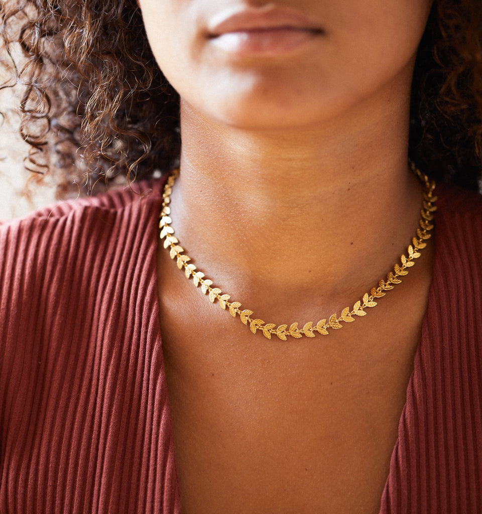 Laurel Chain Necklace - SHOWFIELDS