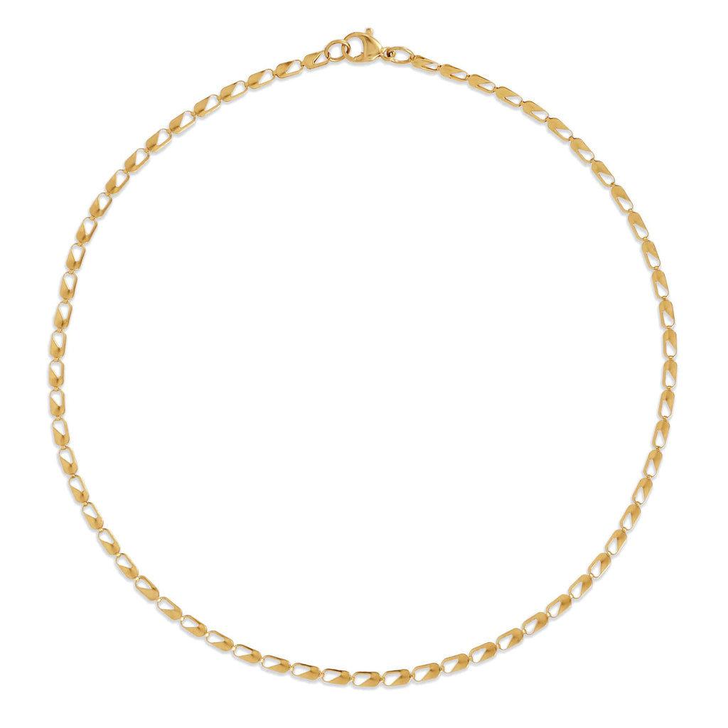 EMERY CHOKER CHAIN NECKLACE - SHOWFIELDS