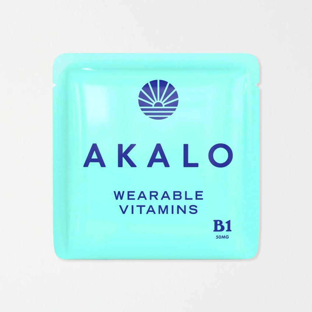 AKALO Vitamin B1 Hangover Patches - SHOWFIELDS