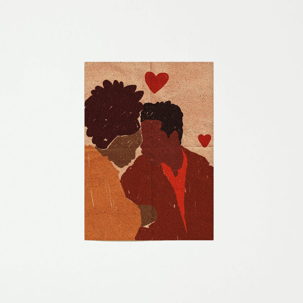 Black Love Holiday Card - SHOWFIELDS