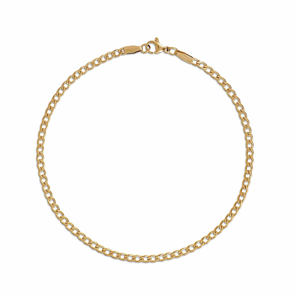 NYX CURB CHAIN ANKLET - SHOWFIELDS