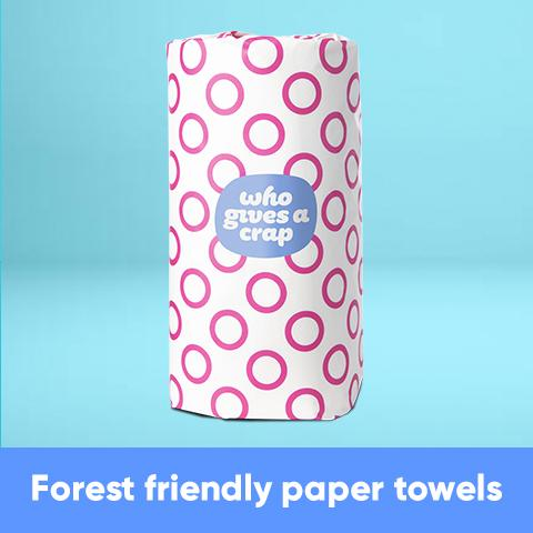 Forest Friendly Paper Towels - Double Length Rolls - SHOWFIELDS