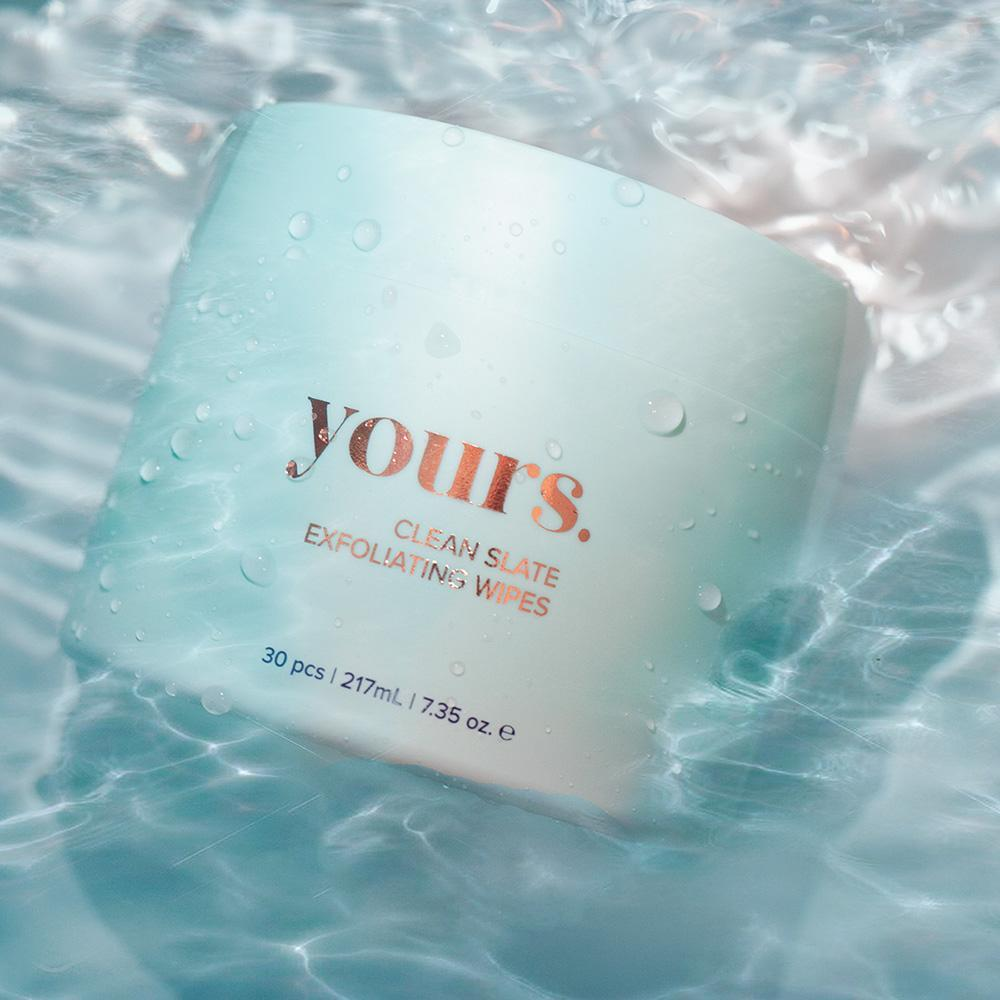 Yours Clean Slate Exfoliating Pads - SHOWFIELDS
