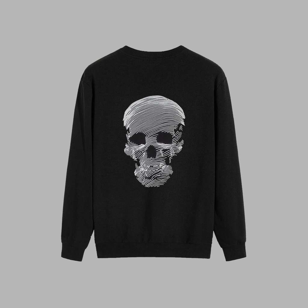 Blvck Skull Sweater - SHOWFIELDS