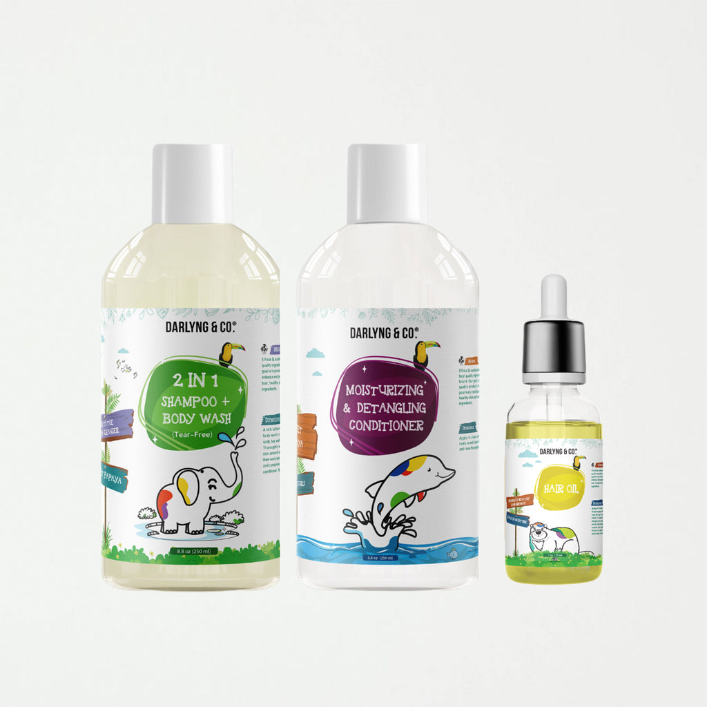 Kids Hair Care Kits - SHOWFIELDS
