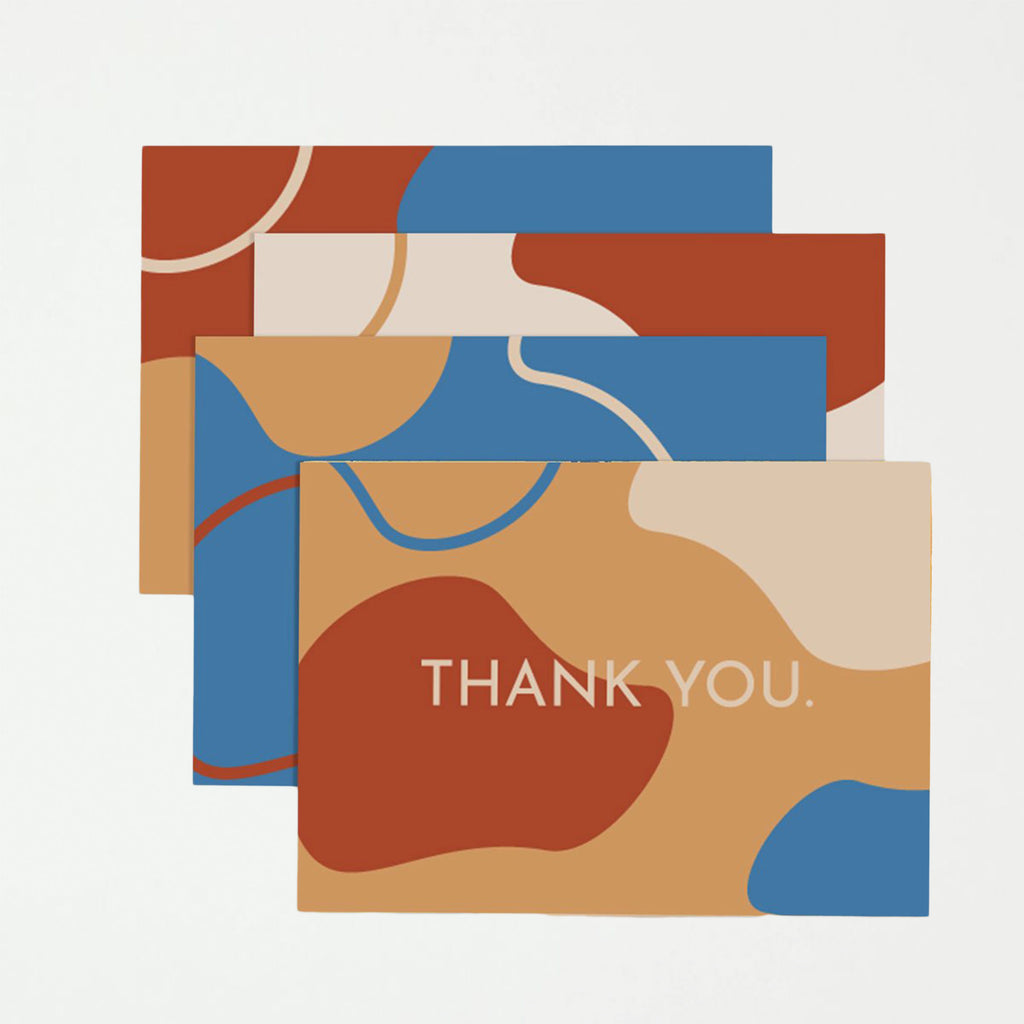 Retro Thank You Card Set - SHOWFIELDS