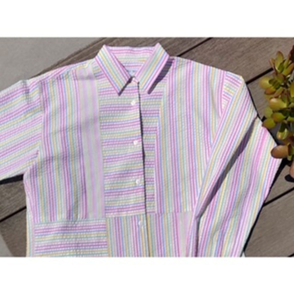ASHLEY RAINBOW PASTEL SHIRT - SHOWFIELDS