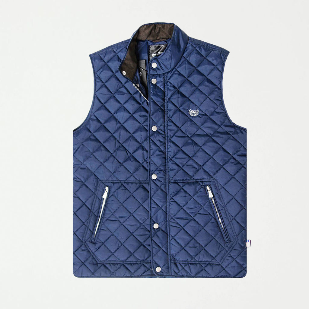 SG Quilted Vest - Navy - SHOWFIELDS