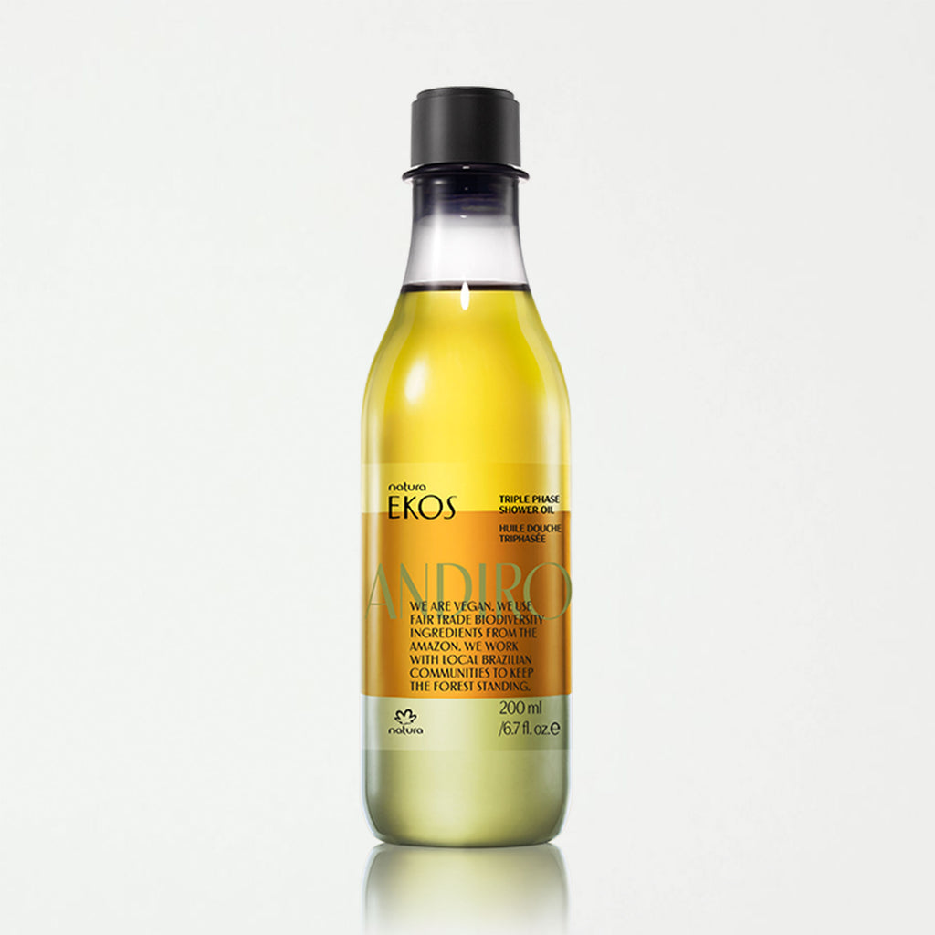 Andiroba Triple Phase Shower Oil - SHOWFIELDS
