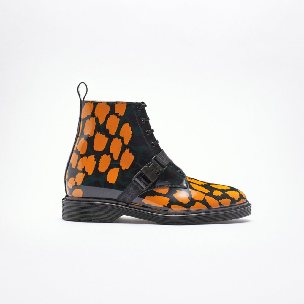 MARCELL VON BERLIN Unisex Printed Combat Boots