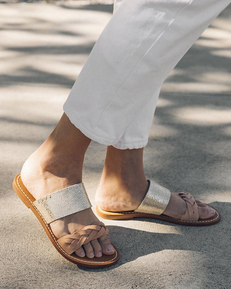 Braided Slide Sandal - SHOWFIELDS