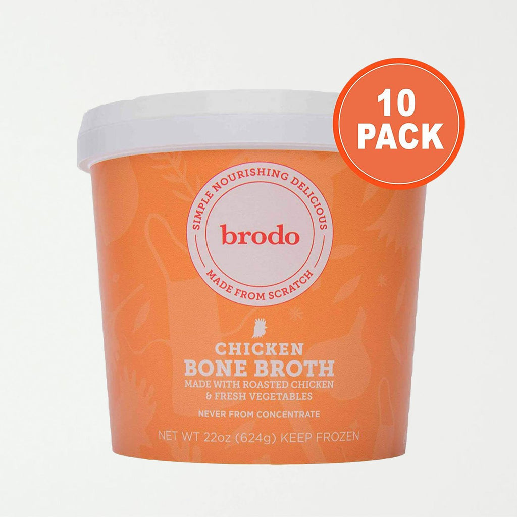 Brodo Chicken Bone Broth, 10 Count - SHOWFIELDS