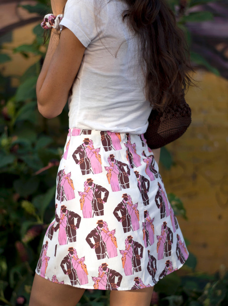 chelsea skirt - pink couple - SHOWFIELDS