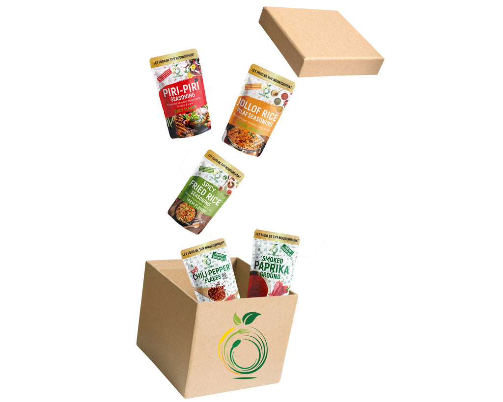 5 Spices & Seasonings Bundle - SHOWFIELDS