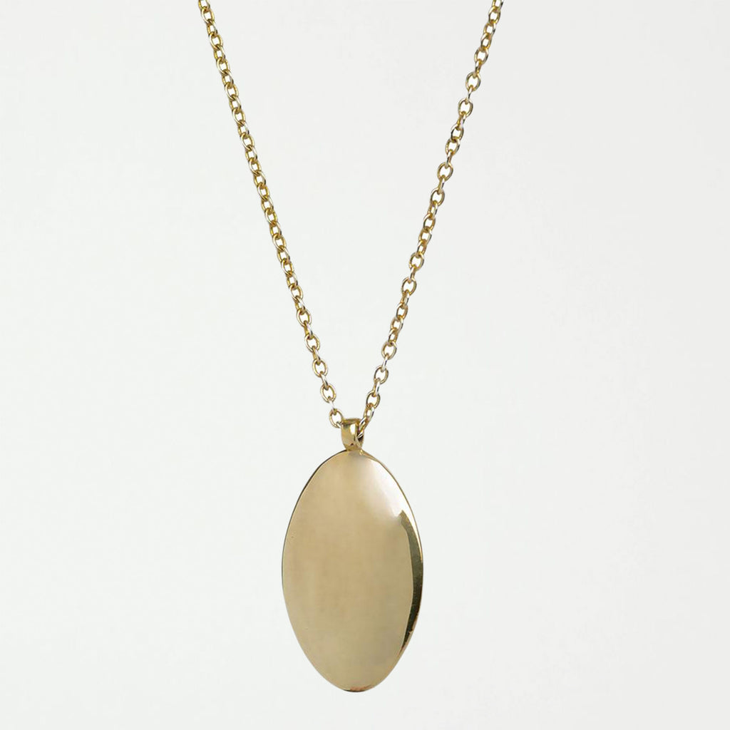 Oval Medallion Pendant Necklace - SHOWFIELDS
