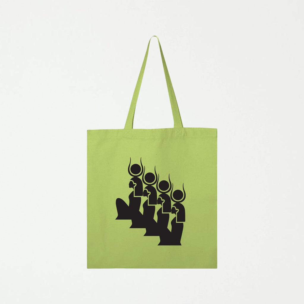 Goddess Green Tote - SHOWFIELDS