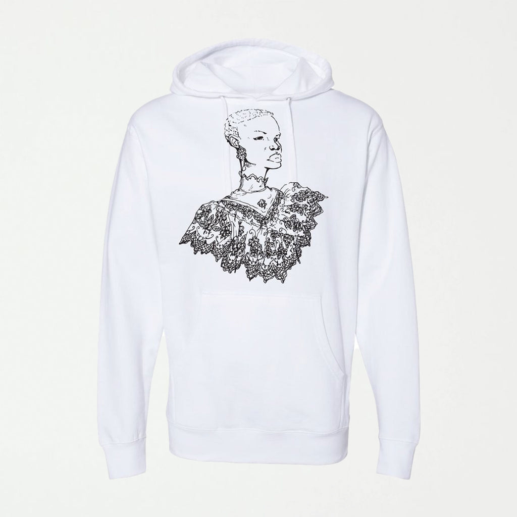 Southern Girl White Hoodie - SHOWFIELDS