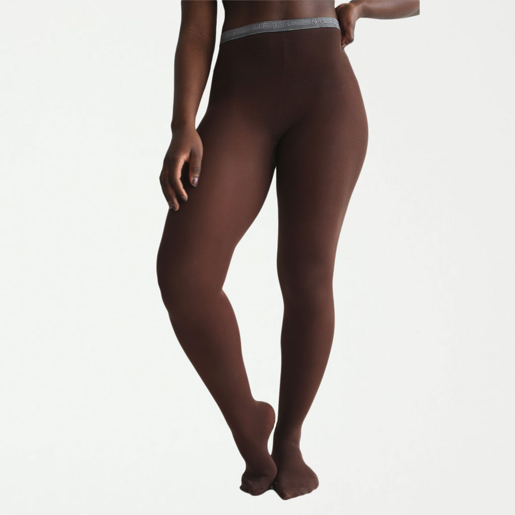 Mocha Convertible Opaque Tights - SHOWFIELDS